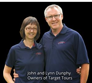 John and Lynn Dunphy 2013- Target Tours